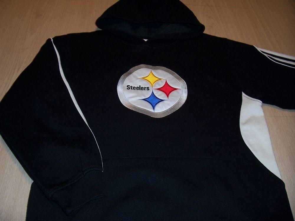 92e67ac94 NFL TEAM APPAREL PITTSBURGH STEELERS LS BLACK HOODIE BOYS XL 16 EXCELLENT   fashion  sports  mem  cards  fan  shop  fanapparelsouvenirs  footballnfl  (ebay ...