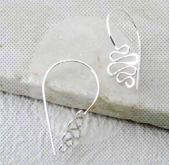 Modern Wire Earrings by Atelier Blaauw - The Beading Gems Journal