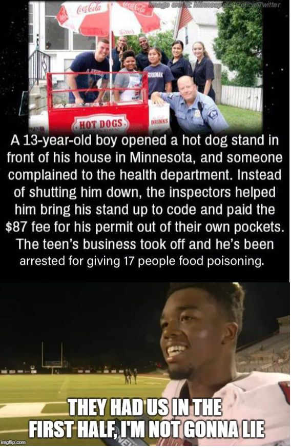 Pin By Aj Dj Is Awesome On Memes 13 Year Old Boys Funny Memes Hot Dog Stand