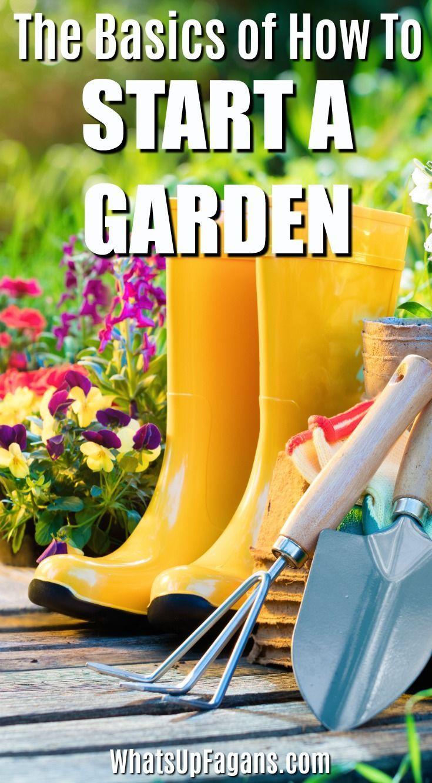 So starten Sie einen Garten - Grundlegende Gartengeräte und Planung für Anfänger #gardeningtools