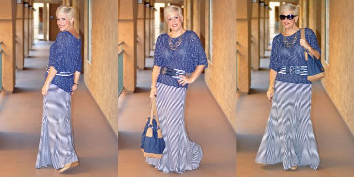 """Be Inspired :: Favorite Bottoms :: Stripes, Stripes & Maxi Stripes :: Choose everyday to """"Dress With Purpose"""" www.dresswithpurpose.com"""