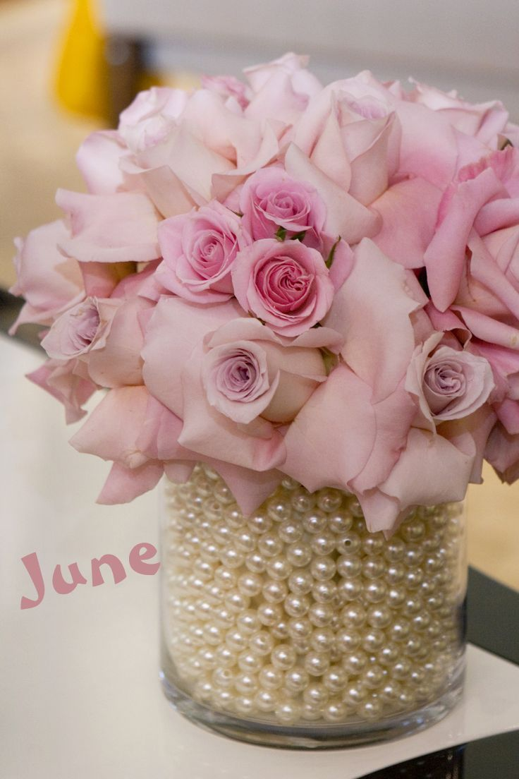 June: Roses and Pearls   \