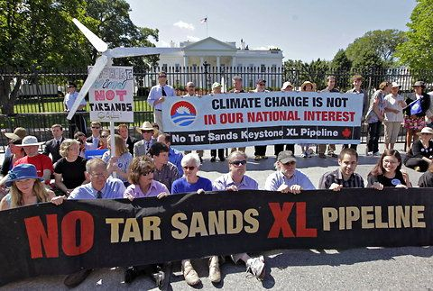 A Climate And Energy Stalemate Xl Pipeline Climate Change Keystone