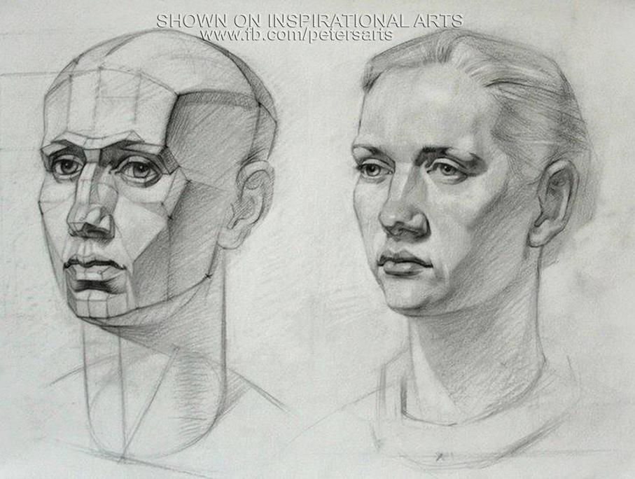 является рисунок головы человека картинки после