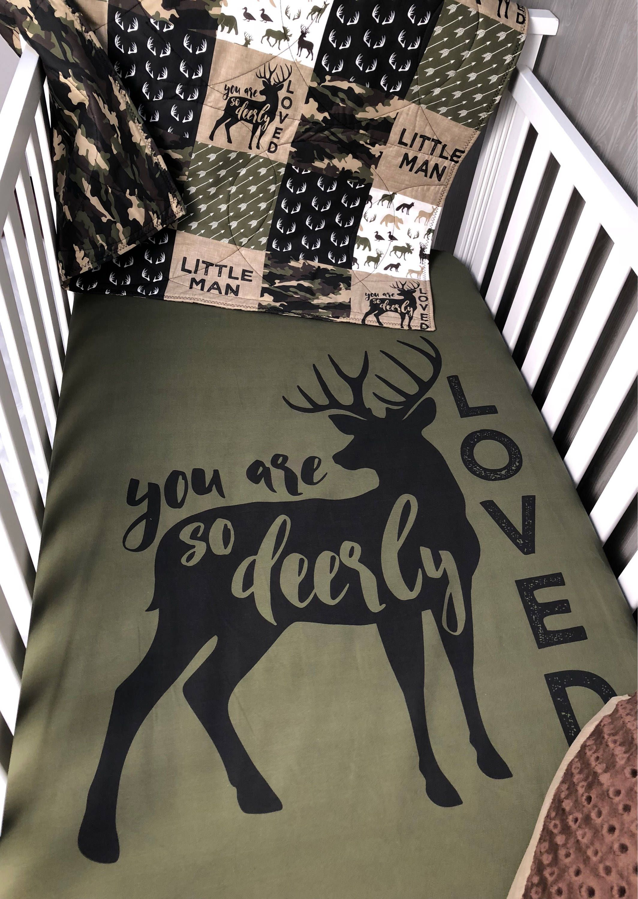 Fresh Camo Baby Bedding Sets