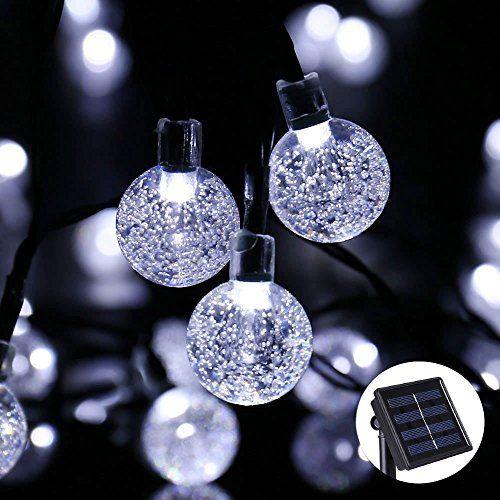 Solar Led String Lights Outdoor Solar String Lights Outdoor Globe Lightsjia Xun 20Ft 30 Led 8