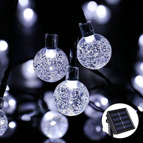 Solar string lights outdoor globe lights by jia xun 20ft 30 led 8 solar string lights outdoor globe lights by jia xun 20ft 30 led 8 modes aloadofball Choice Image