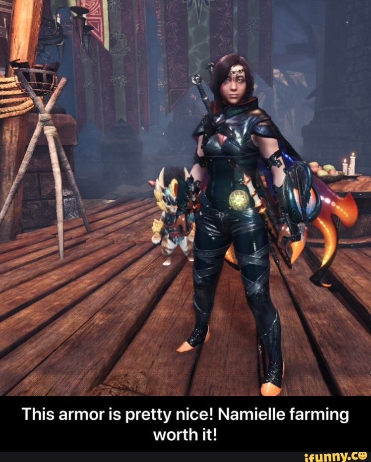This Armor Is Pretty Nice Namielle Farming Worth It This Armor Is Pretty Nice Namielle Farming Worth It Ifunny Monster Hunter Monster Hunter Memes Funny Monsters Title update includes new content, bug fixes, and other adjustments to the game. pretty nice namielle farming worth it