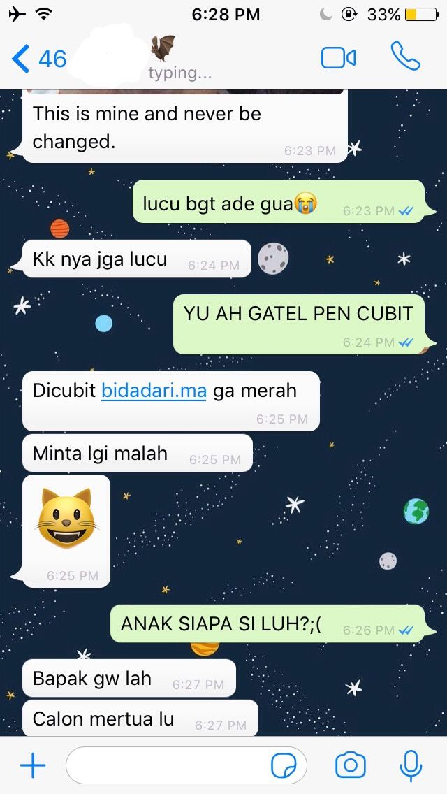 Pin Oleh Chelsy Ayu Di M00d Chat Teks Romantis Teks Lucu Ungkapan Lucu
