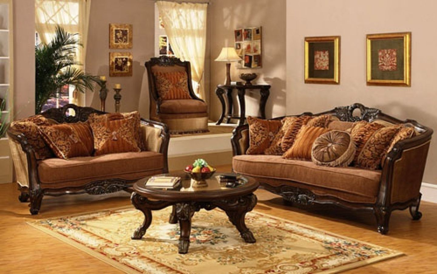 Traditional Living Room Decorating Ideas | ... living room designs ...