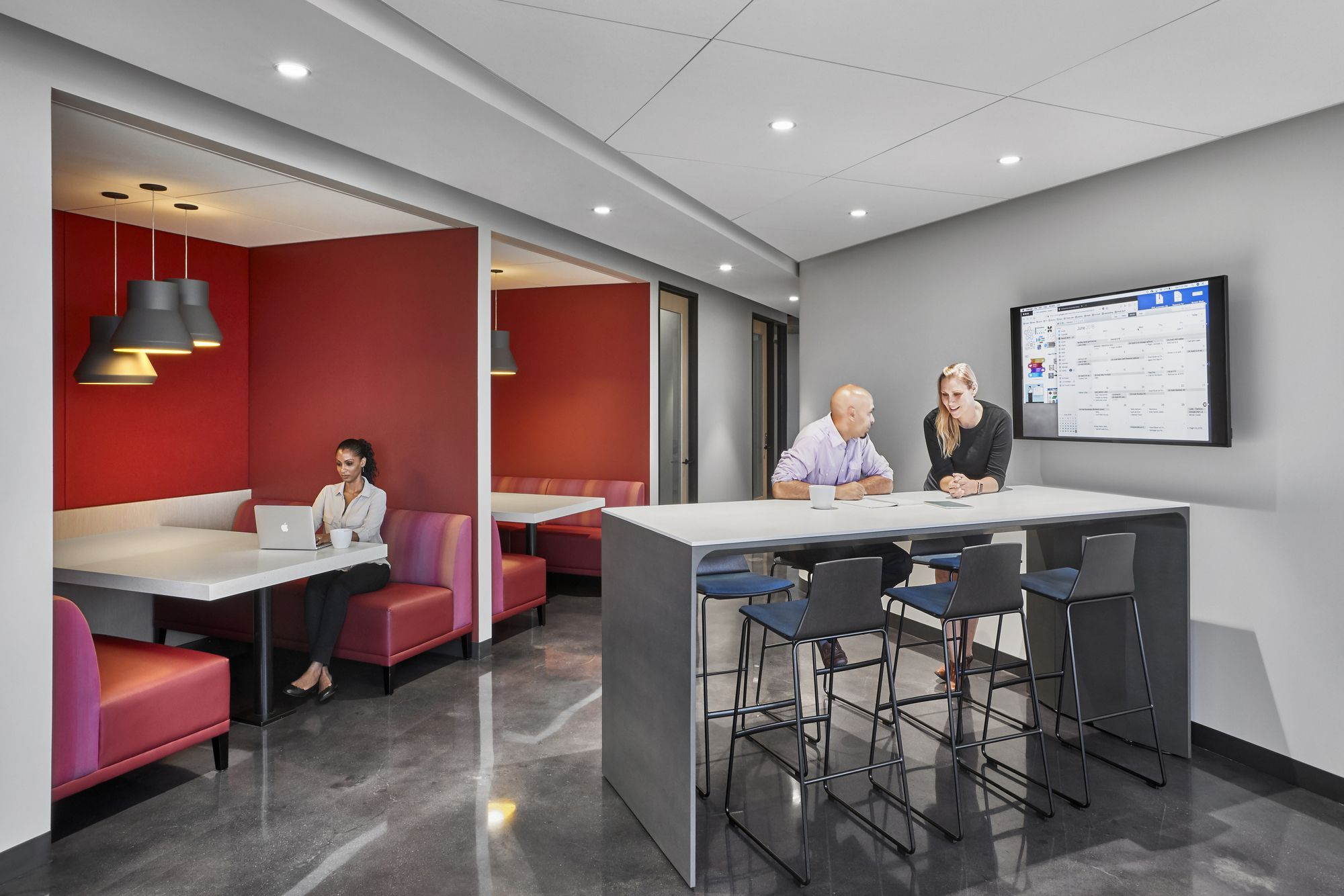 Recently Completed Redesign Of Cedars Sinai Offices In Los Angeles