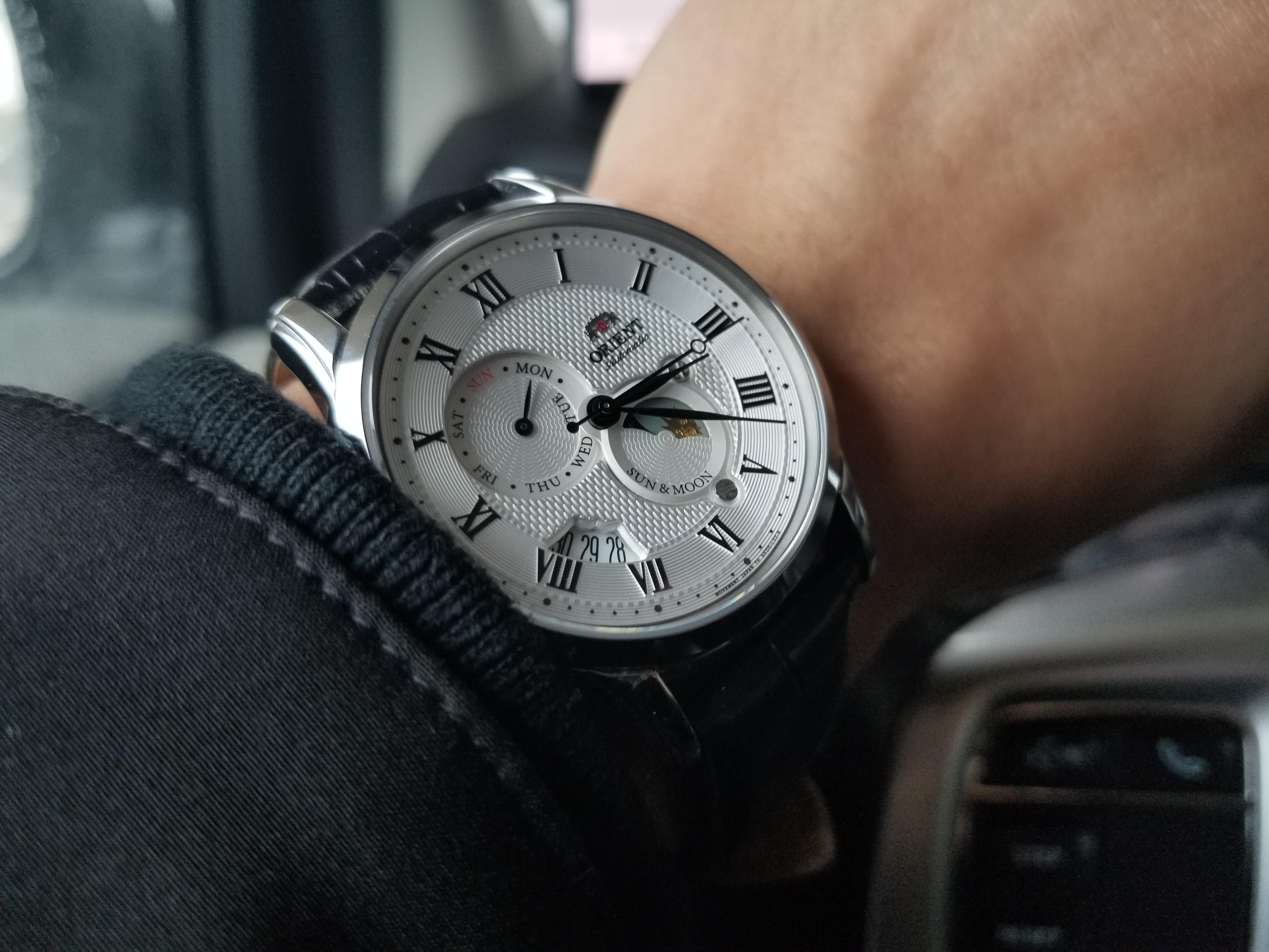 Orient Sun & Moon v3] My first automatic  I love the depth and