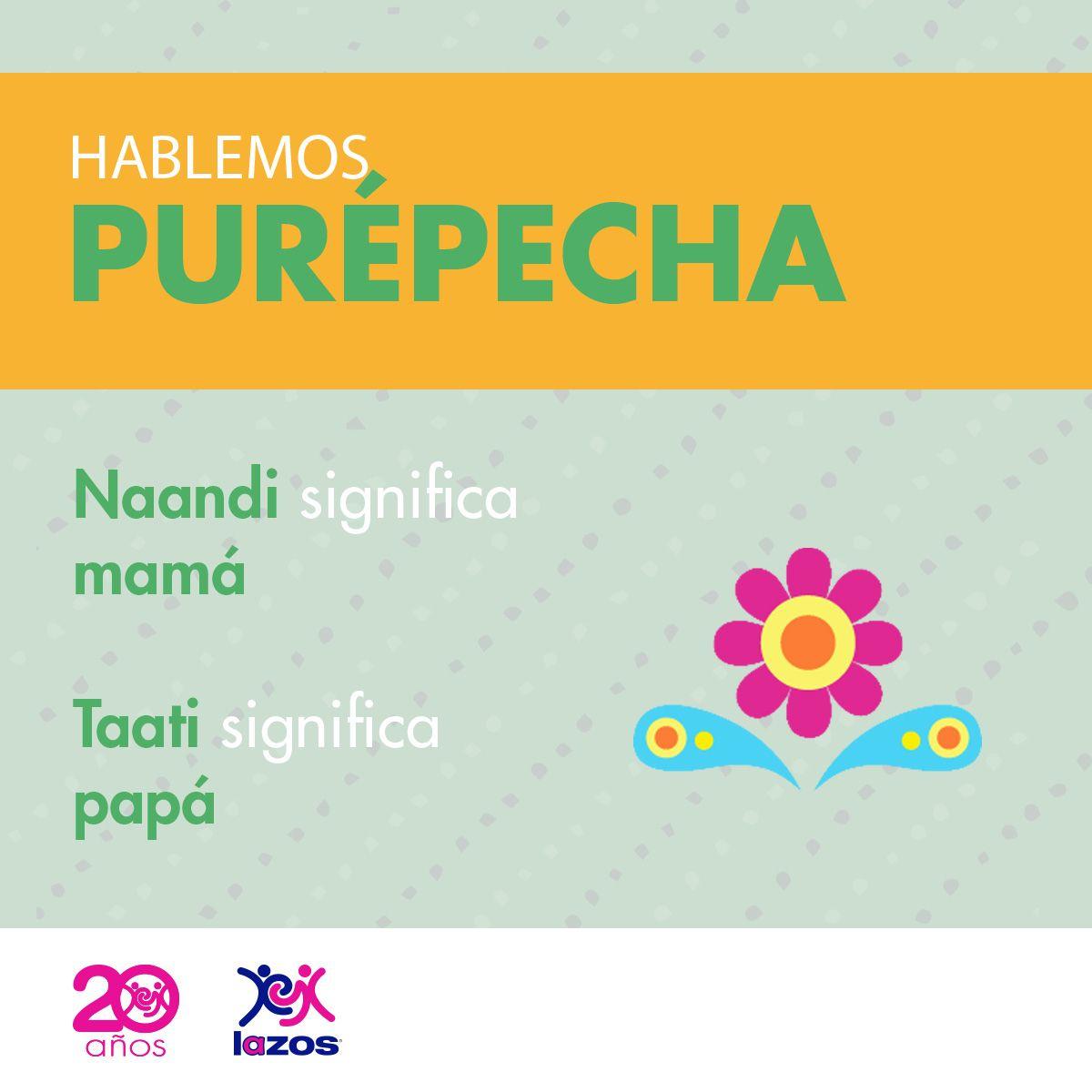 Purepecha Palabras En Nahuatl Lenguas Indigenas De Mexico Palabras Bellas