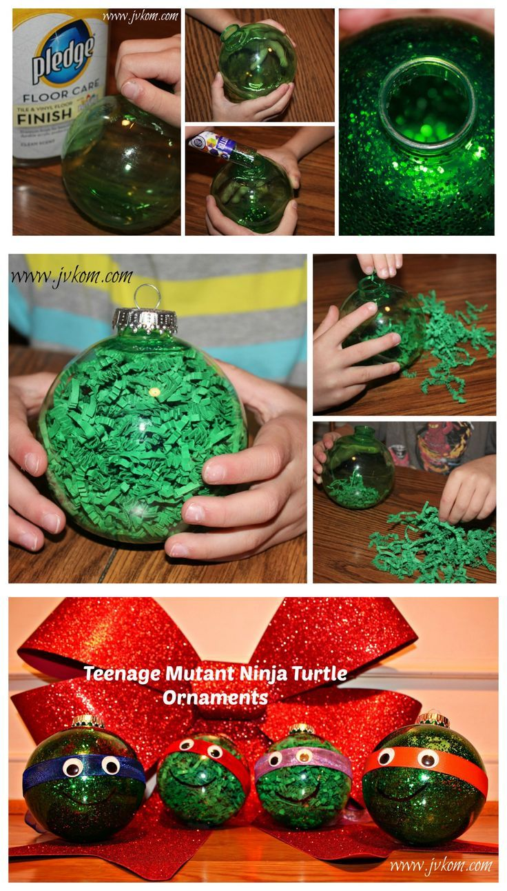 DIY Ninja Turtle Ornaments | THE HOLIDAYS | Pinterest | Ninja ...