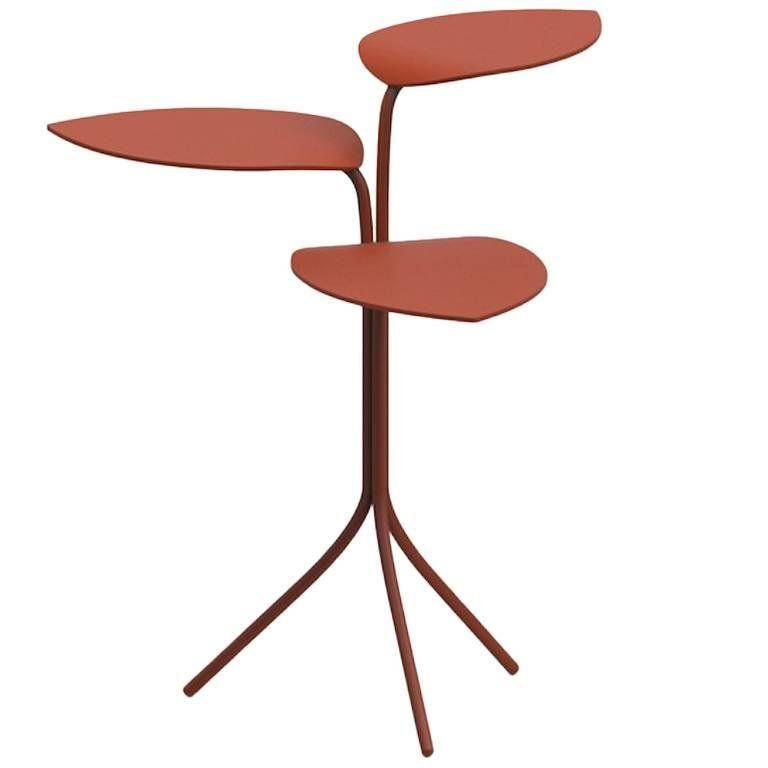Moroso Morning Glory Side Table Marc Thorpe In Six Colors Made Of