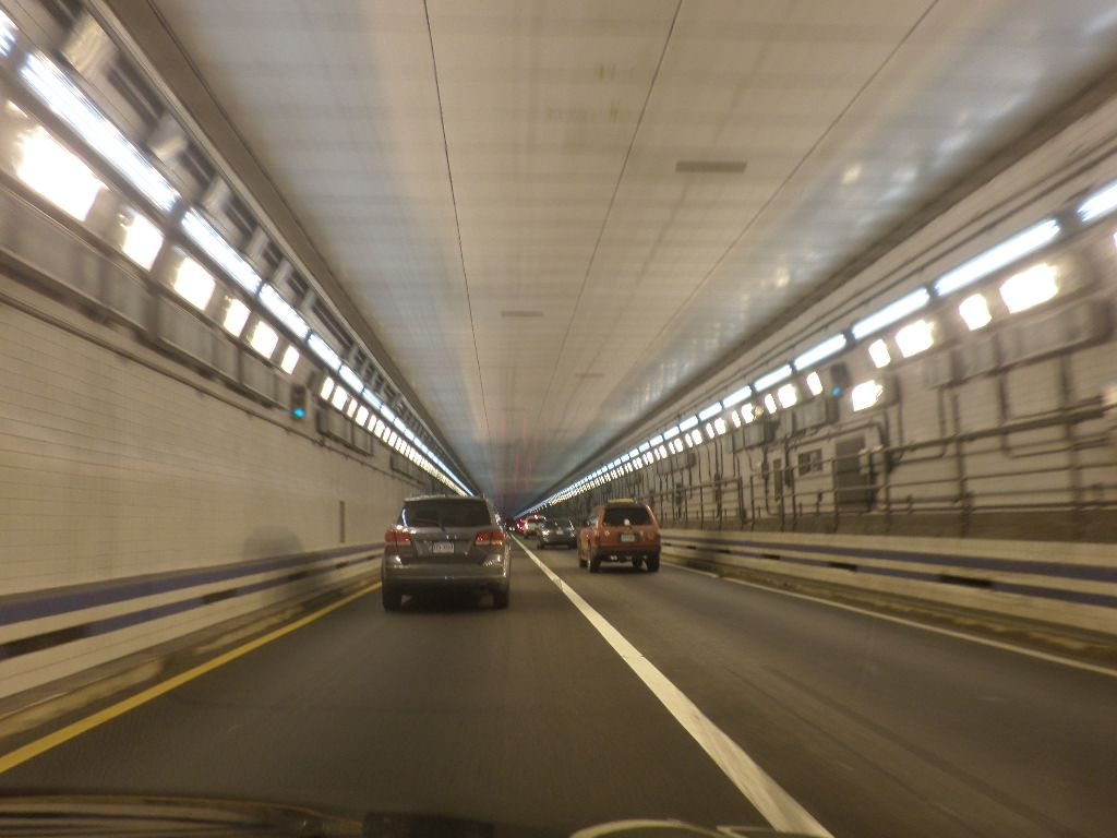 inside chesapeake bay bridge tunnel underwater virginia awesome