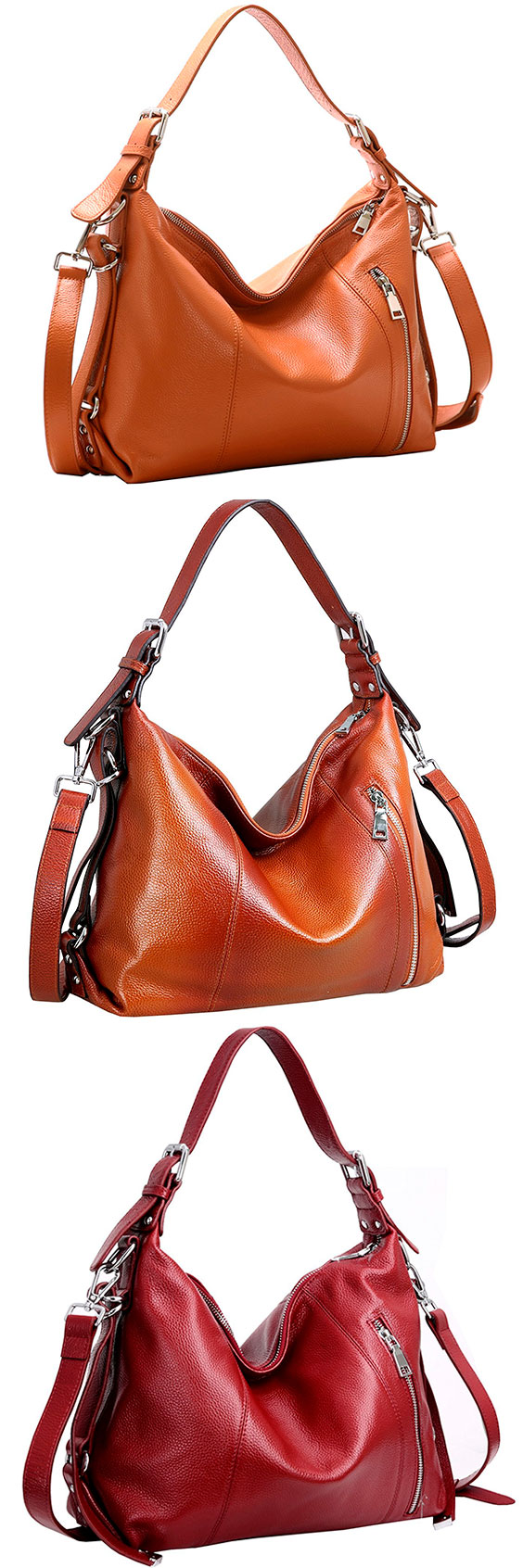 Heshe Leather Cross Body Hobo Bag – Best Satchel Leather Hobo Shoulder Bag  The Heshe provides one of the larger and robust shoulder bags available. 60e6cb0ea007c