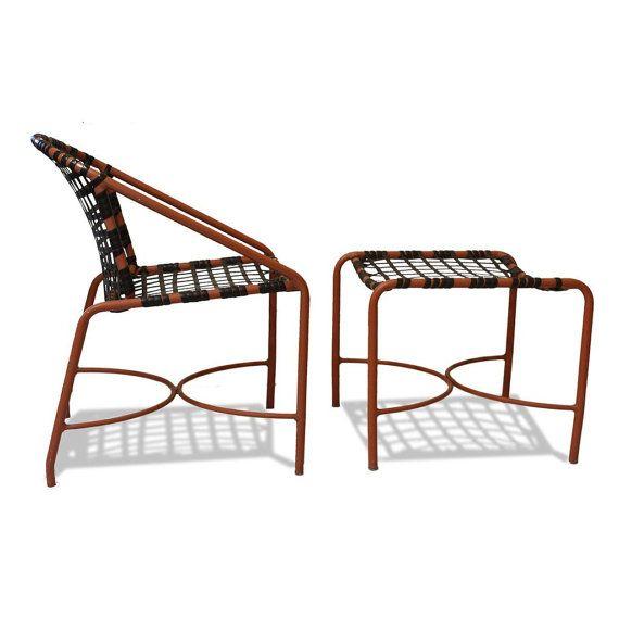 kantan chair and ottoman set by brown jordan original by dejavulb