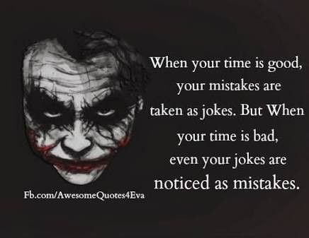 Pin By Kripali Agrahari On Life Quotes By Joker Pinterest Quotes