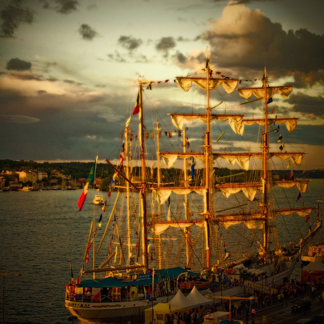 The #golden #ship, centre of #Stockholm, #Sweden. #Photography #Marita #Toftgard