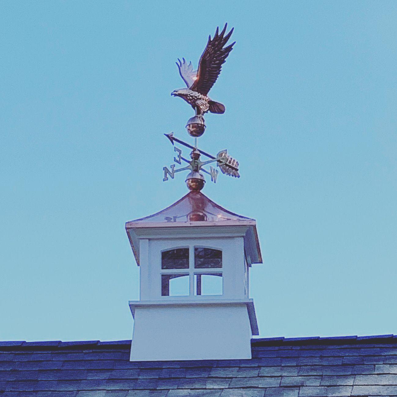 Westport Vinyl Cupola In 2020 Cupolas Copper Roof Weathervanes