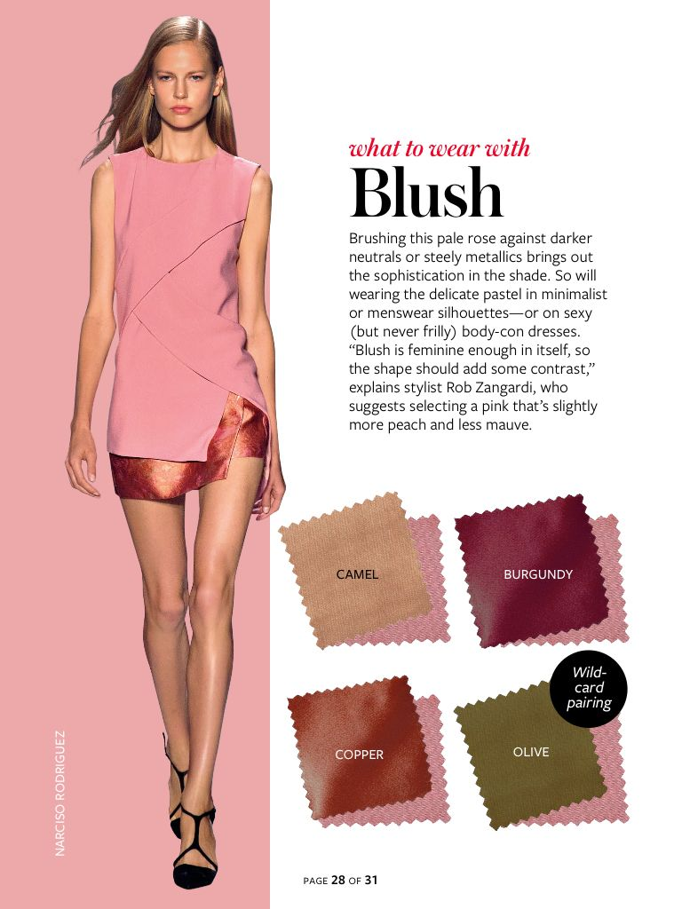 Fashion style Tipscolor Fashion combo to try blush gray for girls