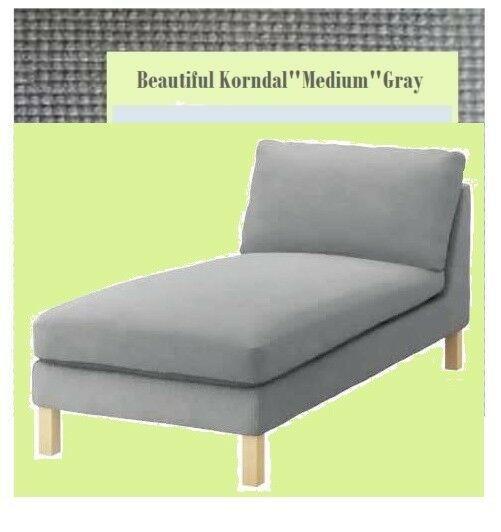 IKEA Karlstad Chaise Lounge Cover FREESTANNDING Korndal