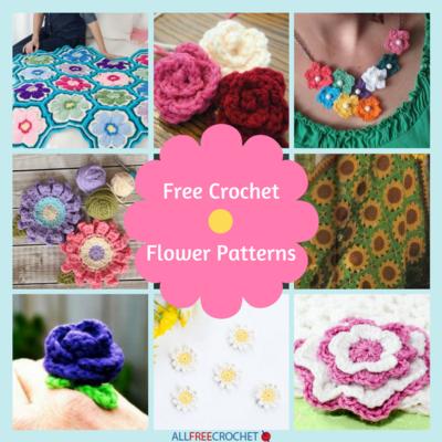 29 Free Crochet Flower Patterns Crochet Flower Pattern Video