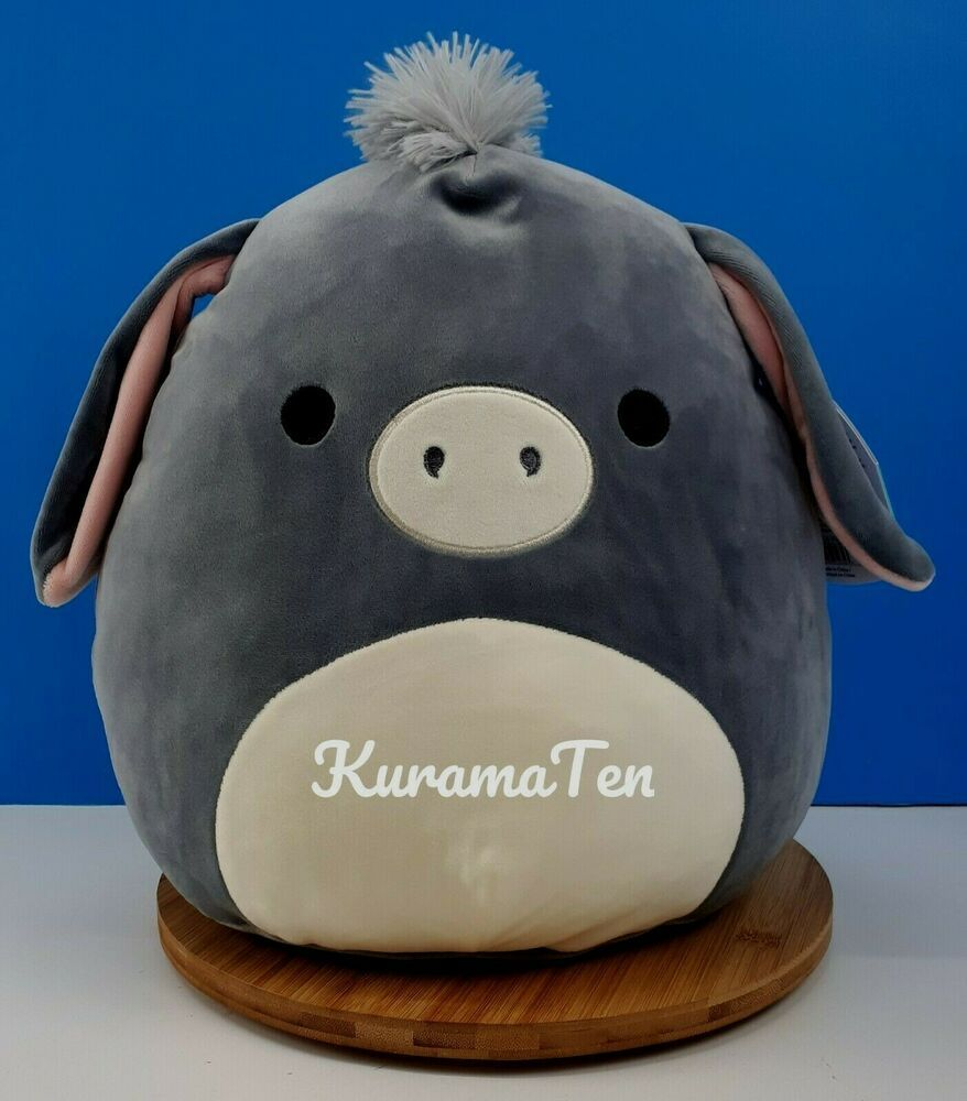 Squishmallow Connor The Cow 12 Plush Pillow Toy By Kellytoy New Tags Ebay Animal Pillows Cute Stuffed Animals Plush Animals