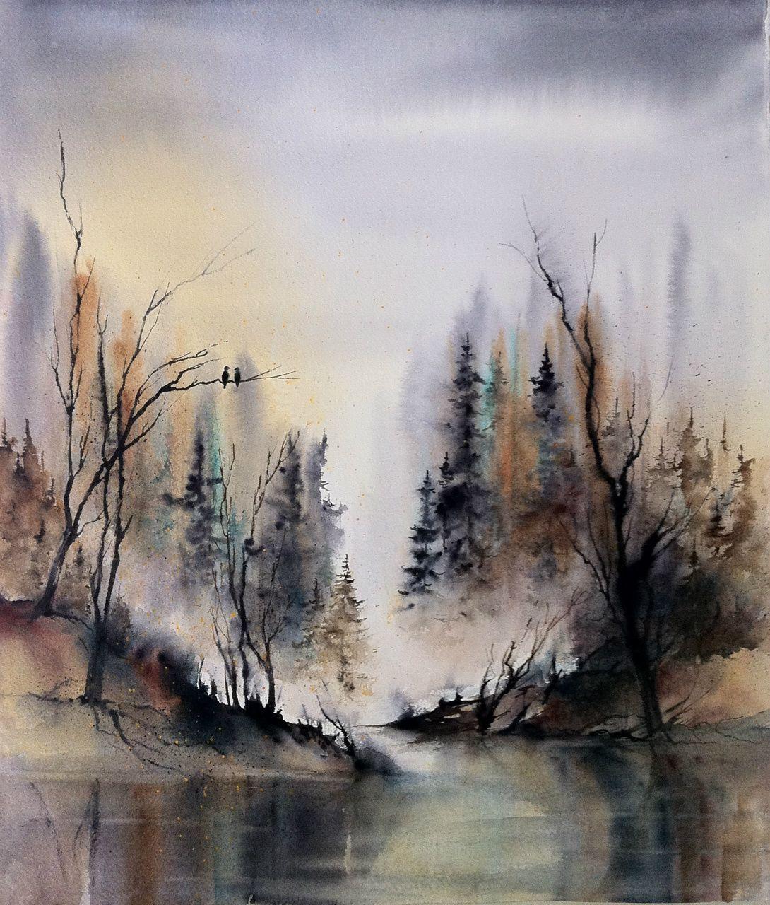 Solgte Bilder Www Hannajakobsen Net Landscape Paintings