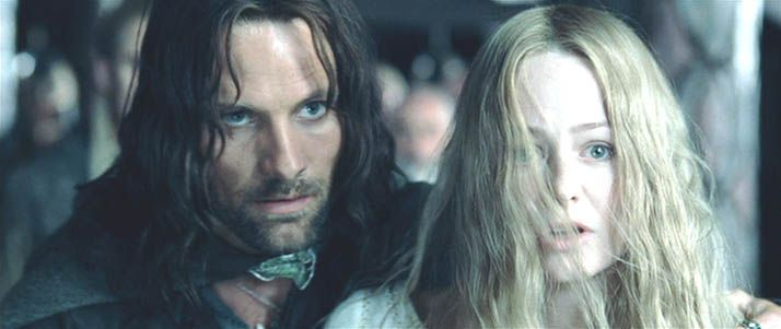 Lord Of The Rings Aragorn And Eowyn