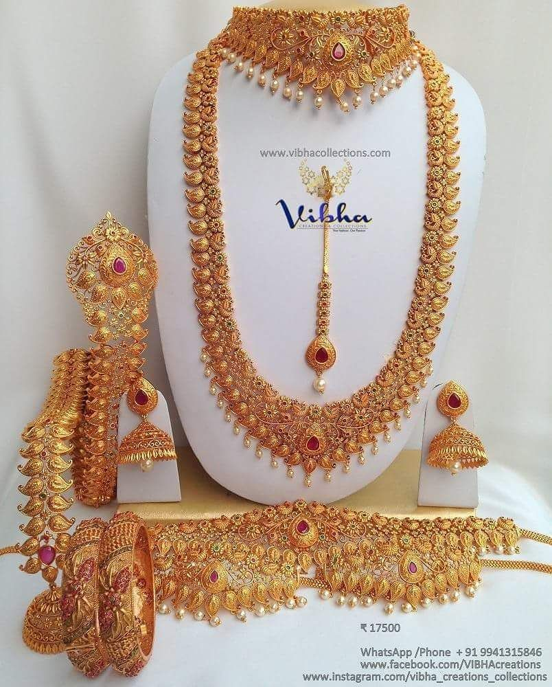 Shop Mind Blowing South Indian Style Imitation Jewellery Designs