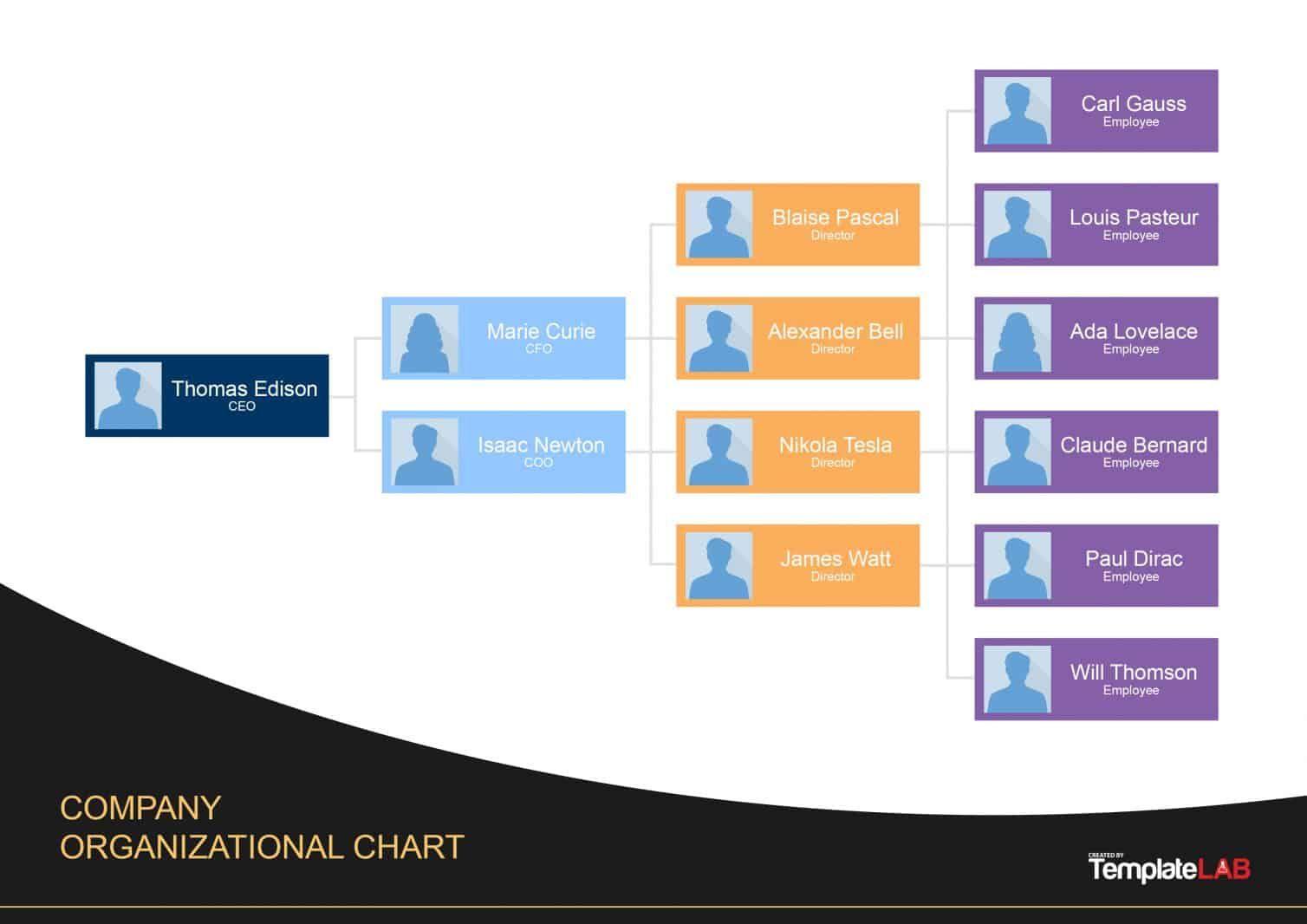 Download Org Chart Template 4 Organizational Chart Org Chart Organization Chart Organizational chart template free download