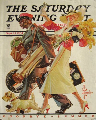 vintage magazine covers | ... Evening Post Cover ~ J.C. Leyendecker, Vintage Magazine Covers