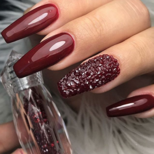 oxblood nails  nailpro  oxblood nails nail art summer