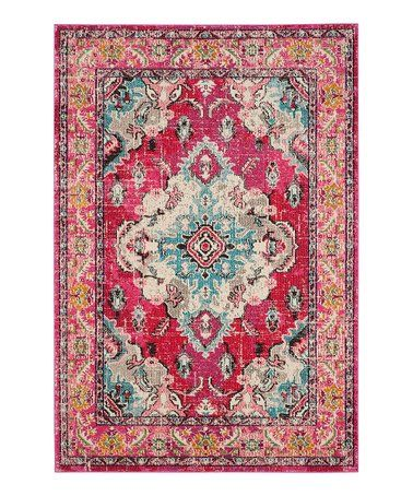 Look What I Found On Zulily Pink Amp Turquoise Monaco Rug