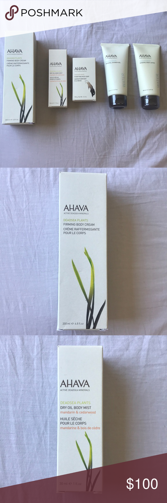 AHAVA lot • unopened • perfect for a gift basket 5 products, all are unopene…