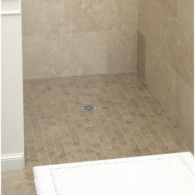 Tile Redi Barrier Free Shower Base Size 6 25 H X 48 W X 32 D