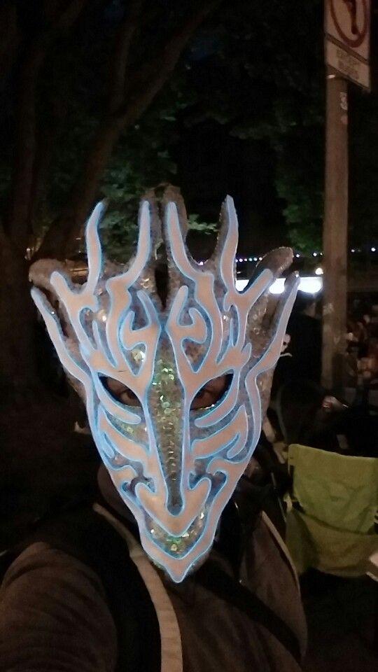 Dragon El Wire Masks - DATA WIRING •