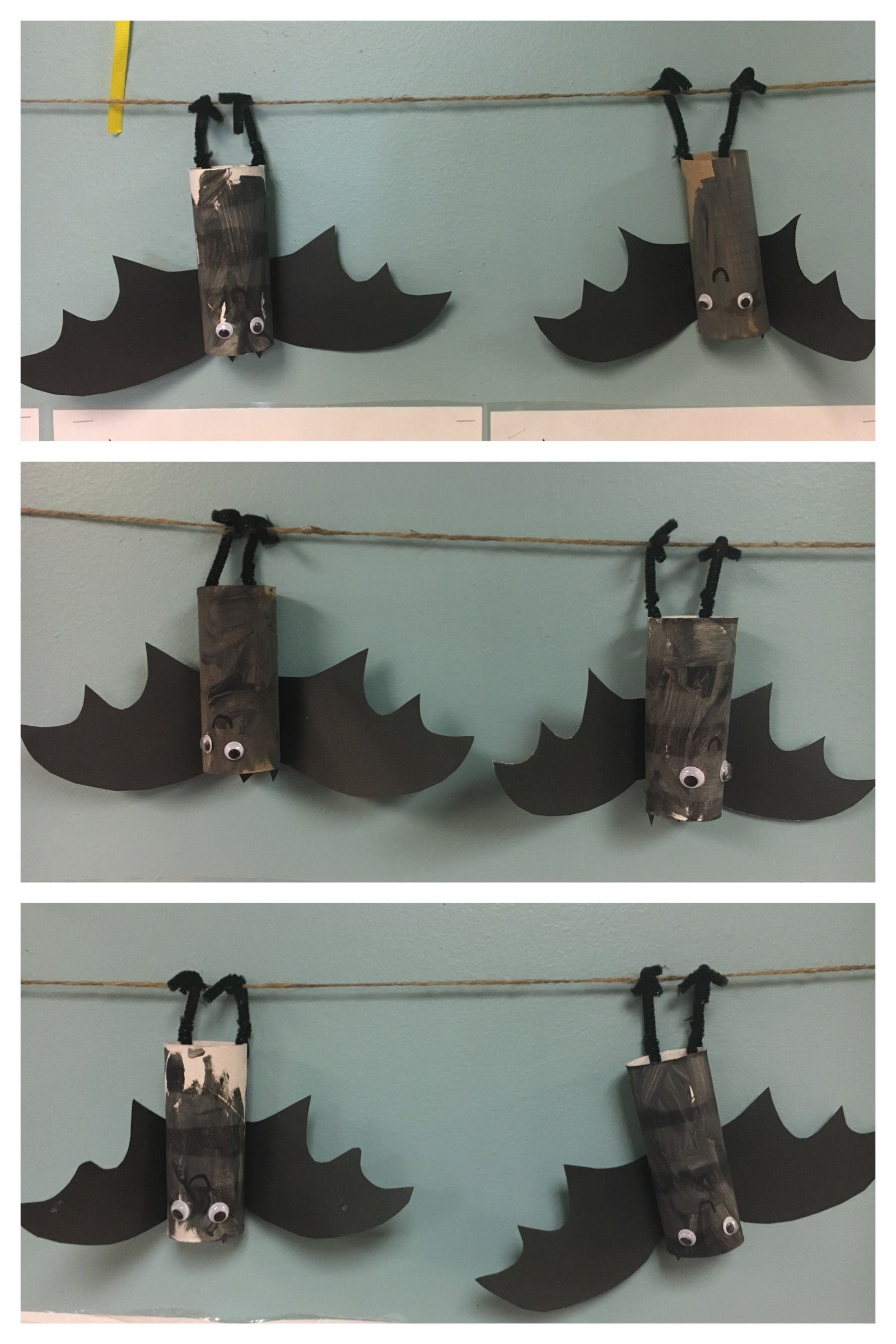 Bat Craft Toilet Paper Roll Bat Nocturnal Animals Unit