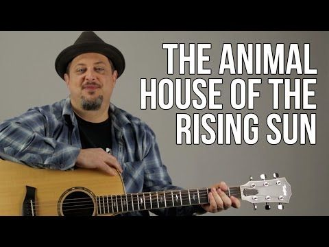 House Of The Rising Sun Guitar Lesson The Animals Easy Songs