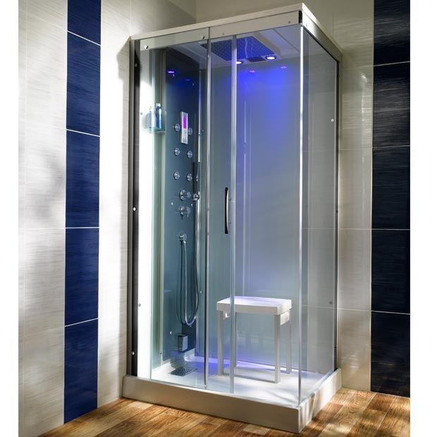 cabine de douche int grale moonlight hammam bonnes. Black Bedroom Furniture Sets. Home Design Ideas