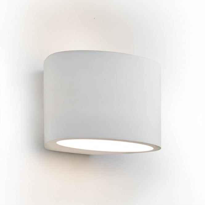 Superieur This Searchlight 8721 Is A 1 Light Up/down Wall Light In A Paintable White  Plaster Finish.