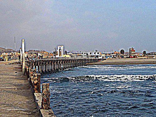 El muelle de Cerro Azul en HDR. Lima - Perú Foto por Marcos Granda www.flickr.com/photos/marcosg Todos los derechos reservados