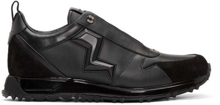 Fendi Black Speed Runner Sneakers   Top Men s Shoes   Pinterest ... 75dd6a0c45