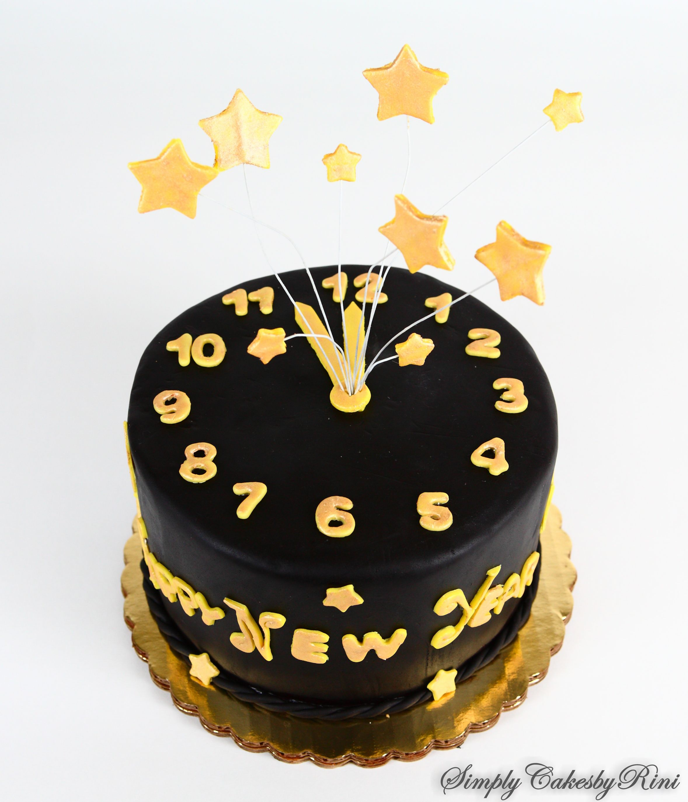 Happy New Year Cake With Images New Year S Cake Cake Food