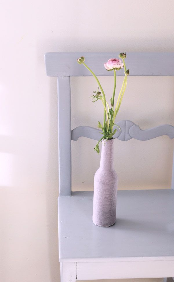 Diy Make A Vase For The First Spring Blossoms From An Old Bottle