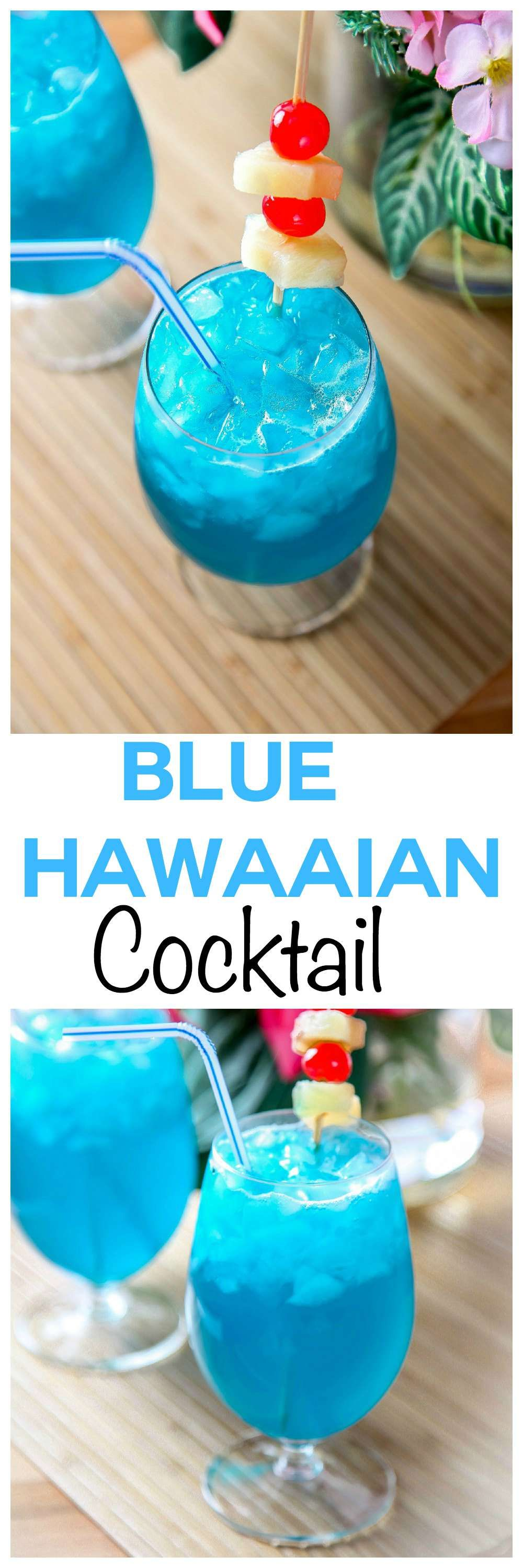 Blue Hawaiian Cocktail: Transport Yourself With This
