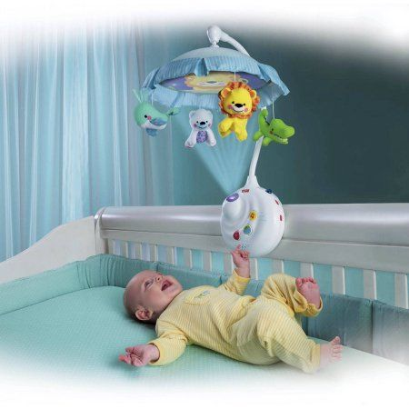 Fisher Price 2 In 1 Projection Crib Mobile Precious Planet Walmart Com Best Baby Mobile Crib Mobile Baby Crib Mobile