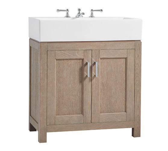 "Modern Farmhouse 31.5"" Single Sink Vanity Farmhouse sink"